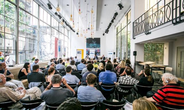 Coworking centrum Opero Praha akce prague european summit