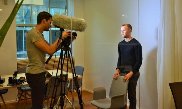 Natáčení spotu Žárovky Flow Media Karel Kieslich