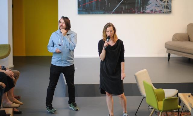 Coworking centrum Opero Praha akce vernisáž Contemporary Art