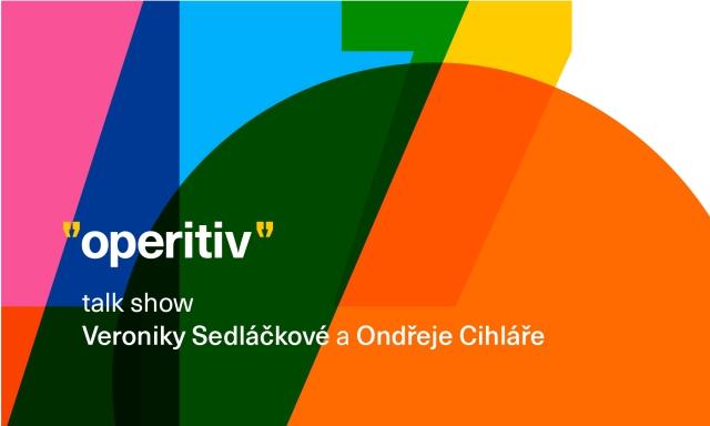 Operitiv talkshow Opero event Eva Samková Jan Čižinský