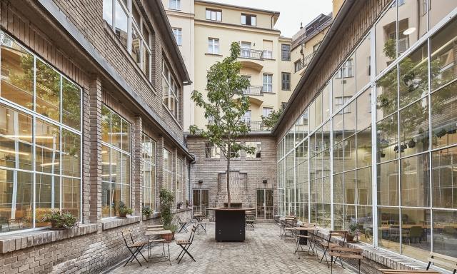 Opero, Atrium, Praha, coworking, office space