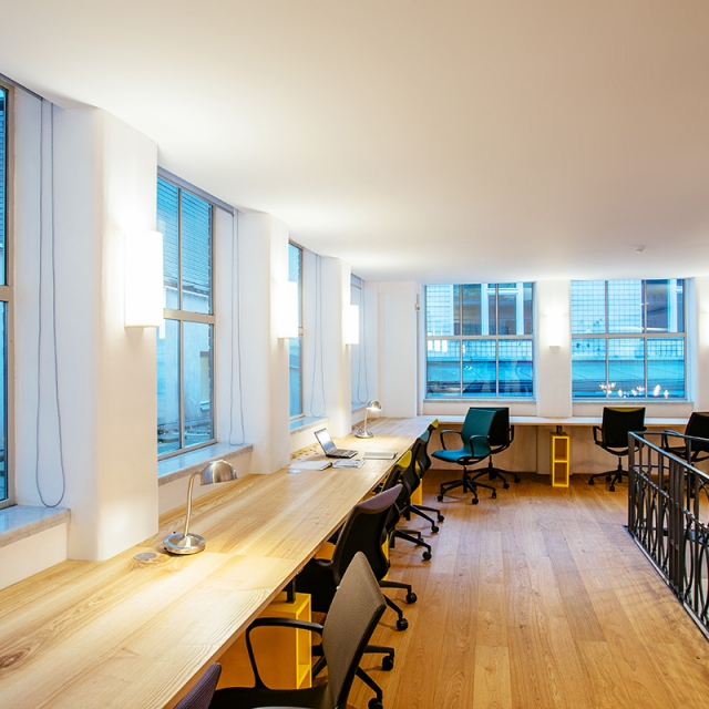 Shared offices, open working space, premium coworking in Prague 1