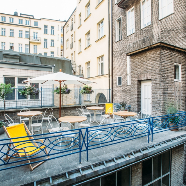 Opero business club Praha 1 - terasa k pronájmu