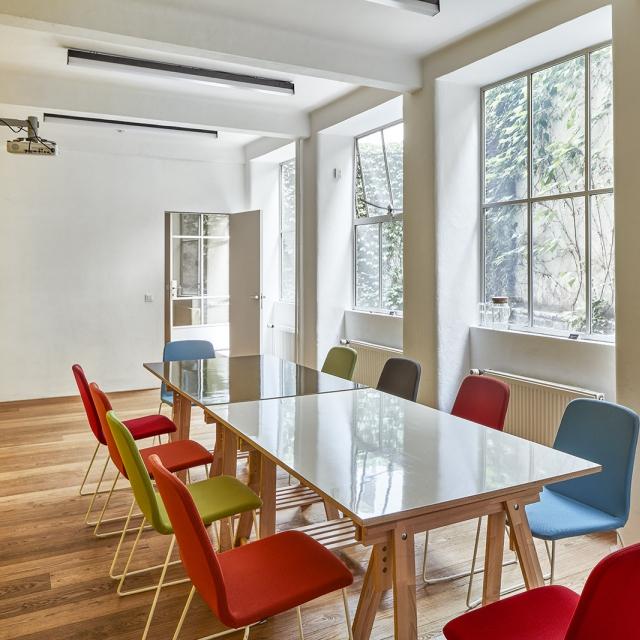 prague meeting room boardroom opero coworking workshop