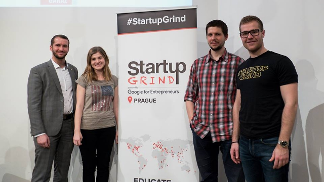 Start up Grind Opero Coworking Prague Marek Rosa