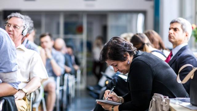 Coworking center Opero event Prague Talks