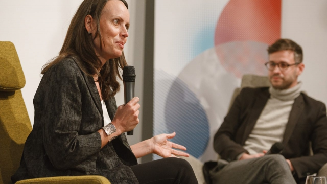 Jacquelline Fuller Google.org Opero coworking Prague Aspen Institute