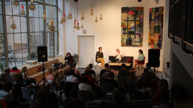 Coworking centrum Opero Praha akce Operitiv talkshow