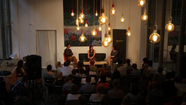 Work space for rent Opero event Operitiv talkshow Tatana Le Moigne Google