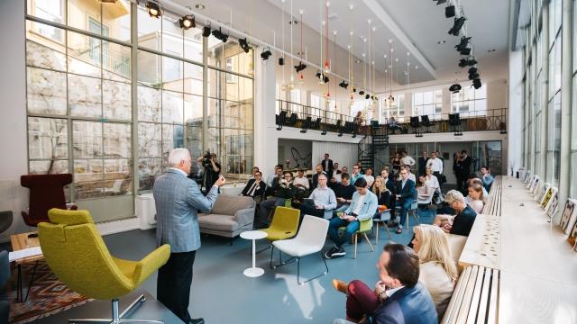 Premium Coworking place Opero Prague Keiretsu Forum Randy Williams