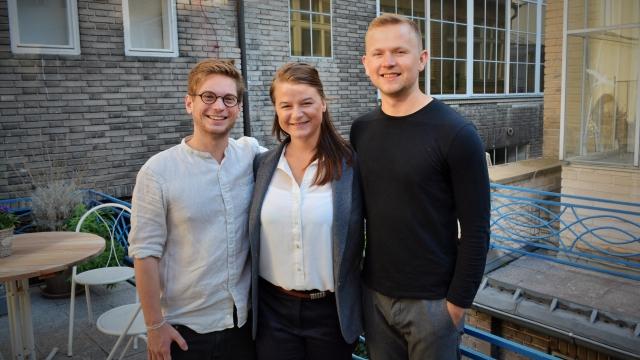 První hosté talkshow Žárovky - Kryštof Vosátka, Barbora Spáčilová, Karel Kieslich
