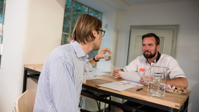Minutovy networking at coworking center Opero Prague