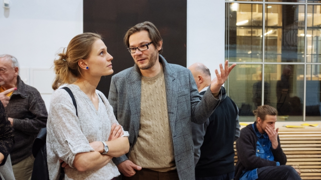 Opero Coworking Business club praha vernisáž Šalanda