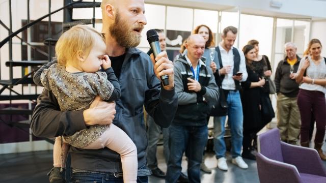 Opero Coworking Business club prague vernissage Šalanda