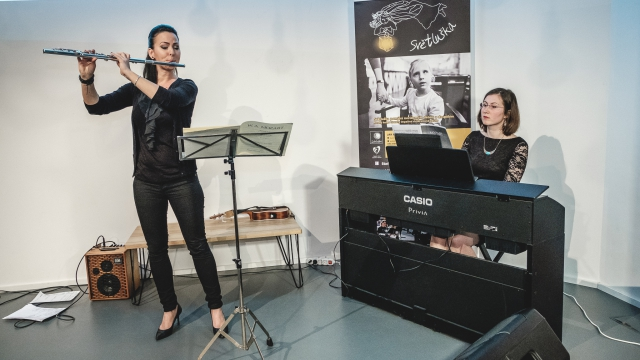 Opero Coworking Business club Music academy event