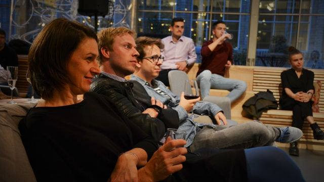 Talkshow Operitiv at coworking center Opero Prague
