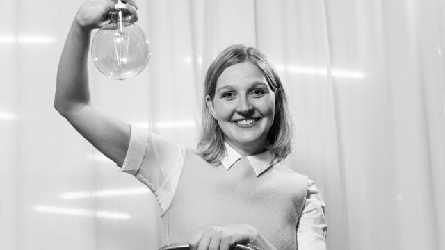 Tereza Mašínová, Opero, věda, talk show, event, Praha, vzdělání, biologie, enviroment, Žárovky, AV čr