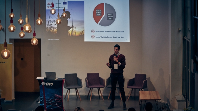 E.ON, Pitchday, startup, event, opero, Prague