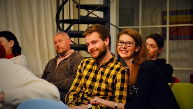 talkshow, operitiv, opero, Bohumil Kartous, Dagmar Pecková, Praha, event