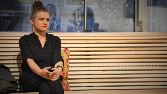 Halka Třešňáková Opero talkshow Praha business club Opero