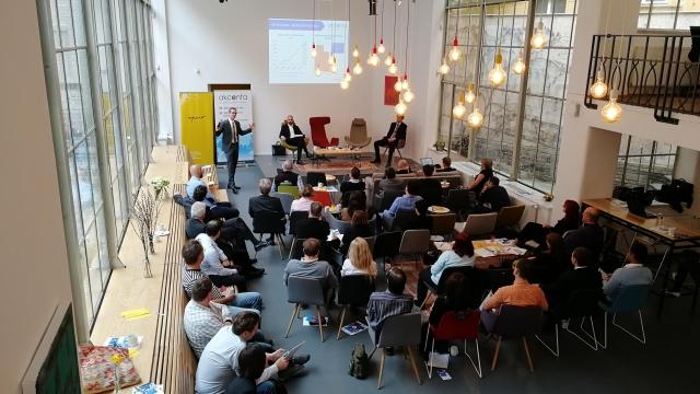 snídaně ekonomů, Praha, Opero, Akcenta, event, business hub, coworking