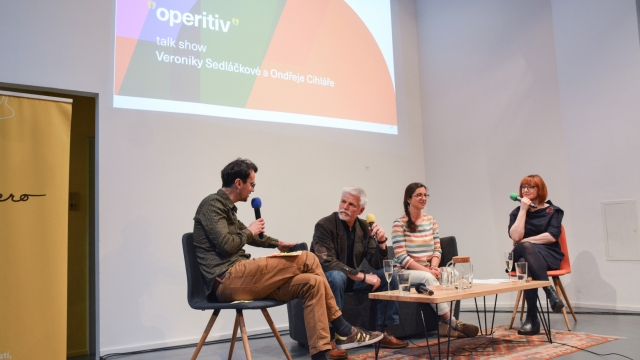 operitiv, opero, talkshow, praha, business club, event, coworking, Petr Pavel