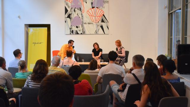 Operitiv, talkshow, opero, Praha, event, coworking
